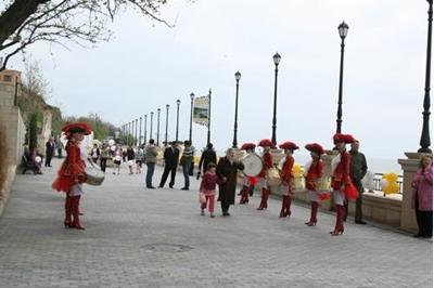 Открытие Прогулочной набережной на 16 ст. Большого Фонтана