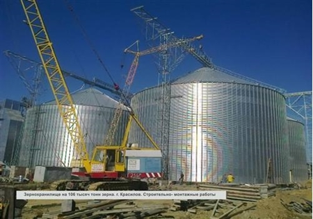 Picture for service GRANARY PER 106,000 TONS OF GRAIN, KRASILOV, KHMELNITSK REGION
