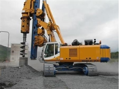 Picture of BAUER BG 28 DRILLING RIG